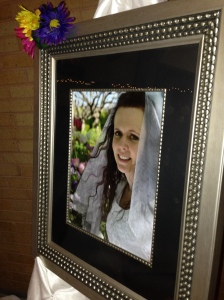KatieAnne on her wedding day